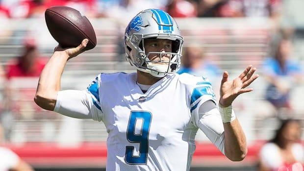 NFL Injury Report: Matthew Stafford