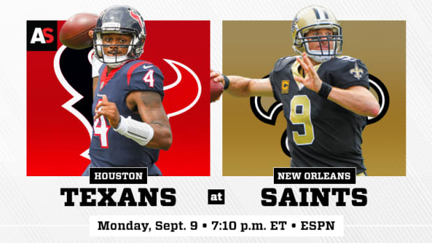 Monday Night Football: Houston Texans vs. New Orleans Saints Prediction and Preview