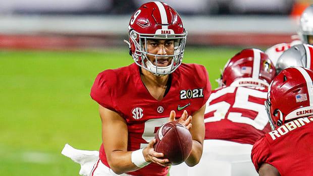 Bryce Young, Alabama Crimson Tide Football