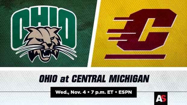 Ohio vs. Central Michigan (CMU) Football Prediction and Preview