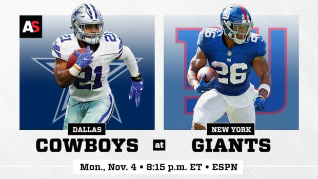 Monday Night Football: Dallas Cowboys vs. New York Giants Prediction and Preview