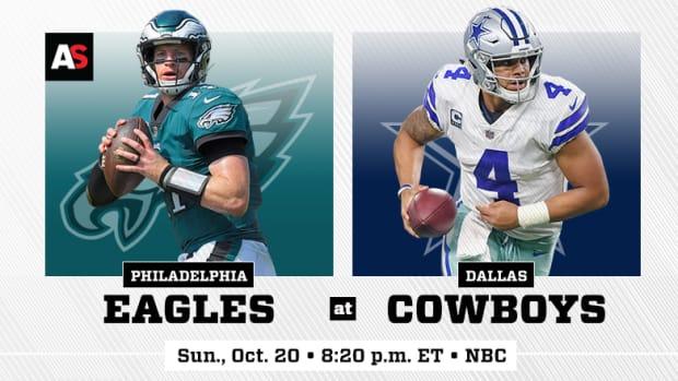 Sunday Night Football: Philadelphia Eagles vs. Dallas Cowboys Prediction and Preview