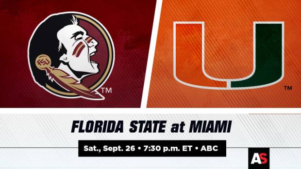 Florida State (FSU) vs. Miami Football Prediction and Preview