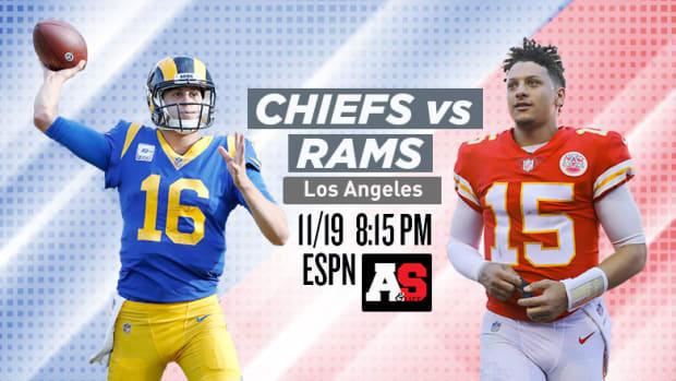 Monday Night Football: Kansas City Chiefs vs. Los Angeles Rams Prediction and Preview