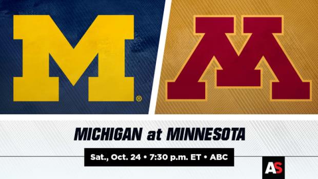 Michigan vs. Minnesota Football Prediction and Preview
