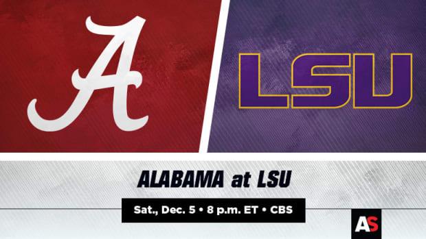 Alabama vs. LSU Football Prediction and Preview