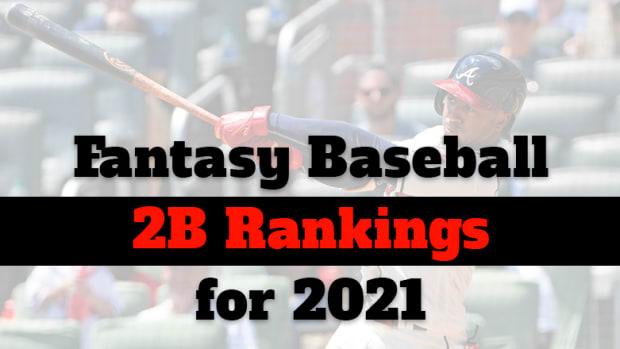 Fantasy Baseball Cheat Sheet: Second Base Rankings for 2021