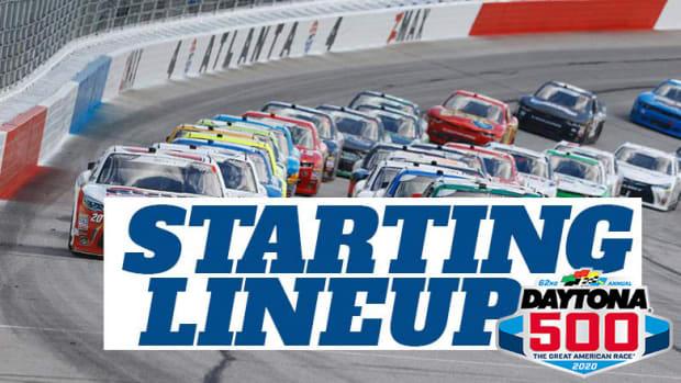 NASCAR Starting Lineup for Sunday's Daytona 500