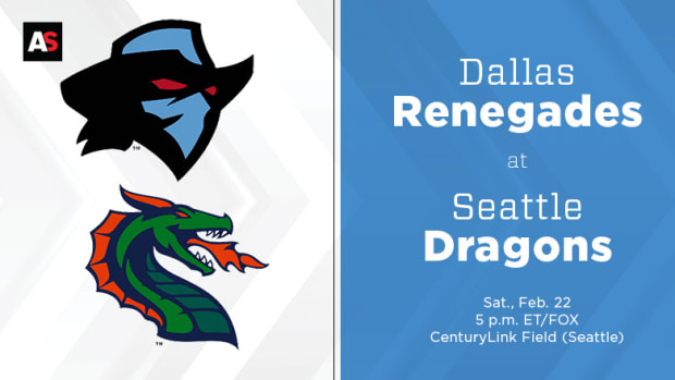 Dallas Renegades vs. Seattle Dragons Prediction and Preview (XFL Football)