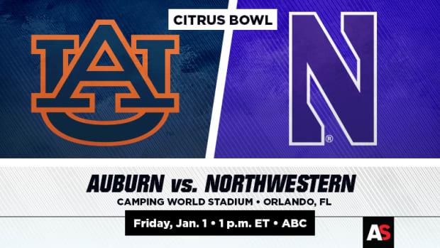 Citrus Bowl Prediction and Preview: Auburn vs. Northwestern