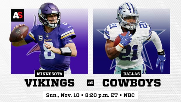 Sunday Night Football: Minnesota Vikings vs. Dallas Cowboys Prediction and Preview
