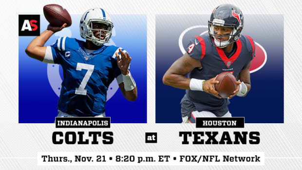 Thursday Night Football: Indianapolis Colts vs. Houston Texans Prediction and Preview