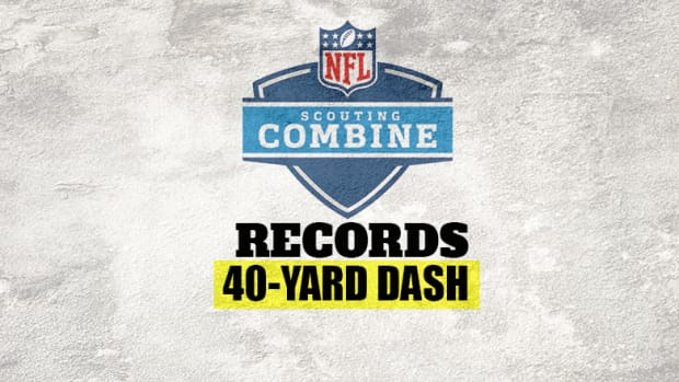 NFL Scouting Combine: 40-Yard Dash Record