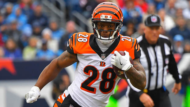 NFL Injury Report: Joe Mixon