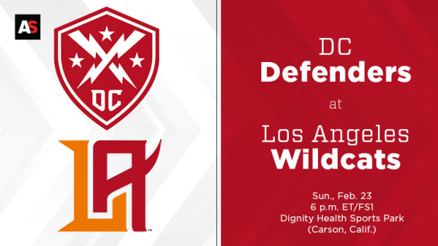 DC Defenders vs. Los Angeles Wildcats Prediction and Preview (XFL Football)