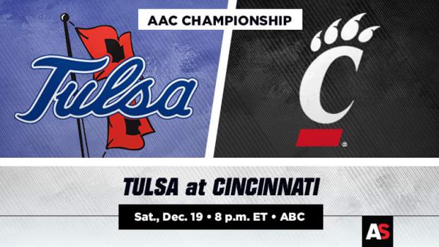 AAC Championship Prediction and Preview: Tulsa vs. Cincinnati