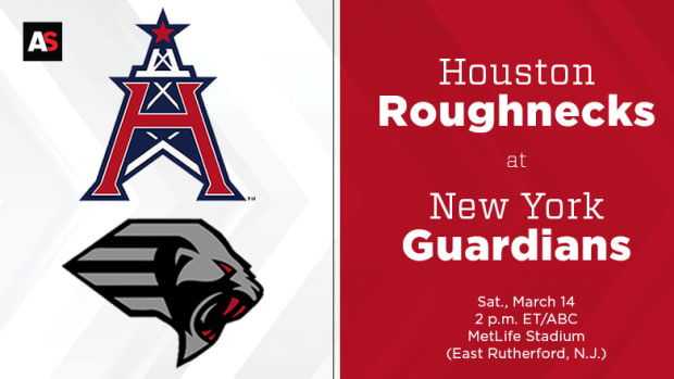Houston Roughnecks vs. New York Guardians Prediction and Preview (XFL Football)