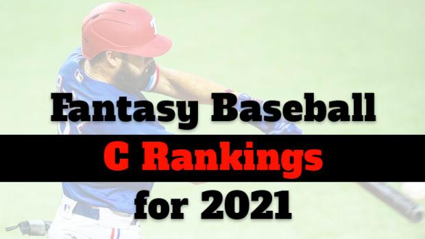 Fantasy Baseball Cheat Sheet: Catcher Rankings for 2021