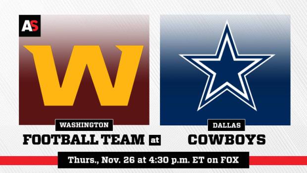 Thanksgiving Day: Washington Football Team vs. Dallas Cowboys Prediction and Preview