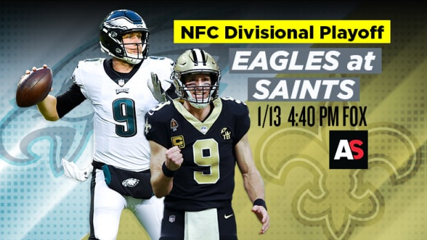NFC Divisional Playoff Prediction and Preview: Philadelphia Eagles vs. New Orleans Saints