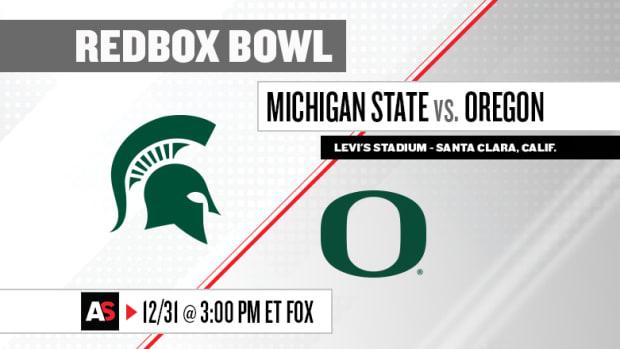 Redbox Bowl Prediction and Preview: Michigan State vs. Oregon