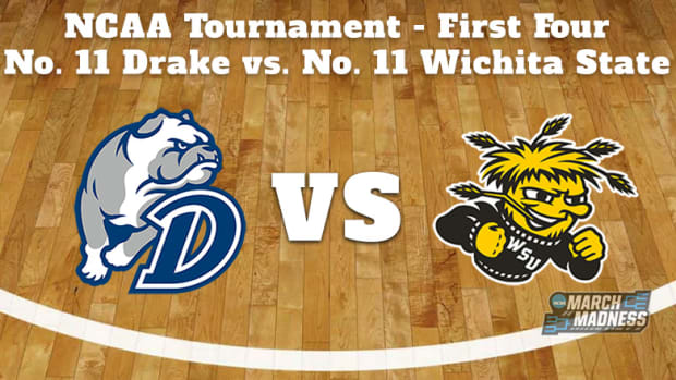 Drake Bulldogs vs. Wichita State Shockers Prediction: NCAA Tournament First Four Preview
