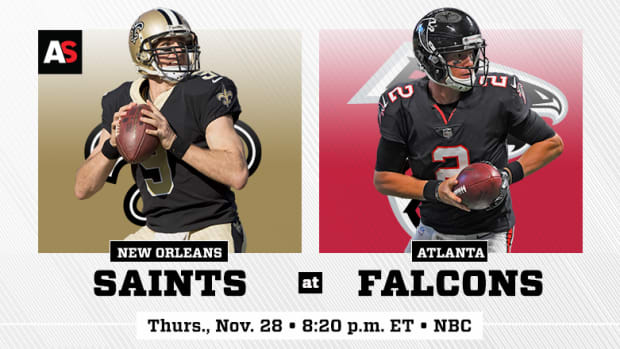 Thanksgiving Day: New Orleans Saints vs. Atlanta Falcons Prediction and Preview