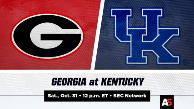 Georgia (UGA) vs. Kentucky (UK) Football Prediction and Preview