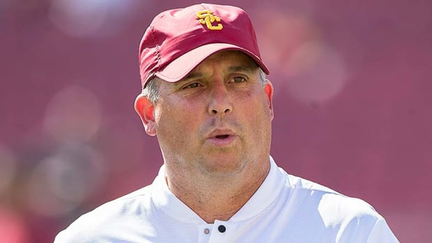 USC Football: The Clay Helton Question Looms Ahead of Notre Dame Matchup
