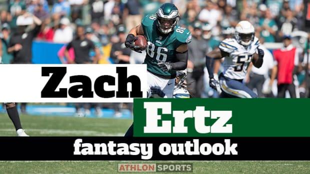 Zach Ertz: Fantasy Outlook 2019