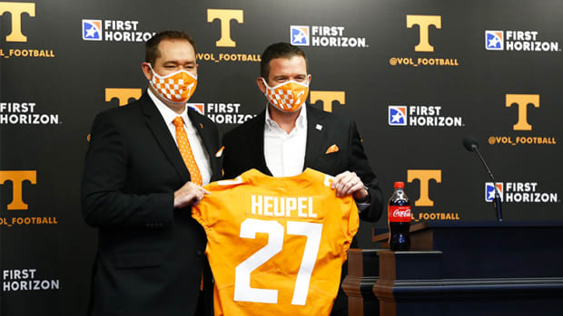 Josh Heupel and Danny White, Tennessee Volunteers Football