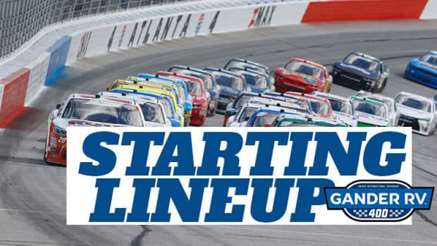 NASCAR Starting Lineup for Sunday's Gander RV 400 at Dover International Speedway