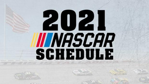 2021 NASCAR Cup Series TV Schedule