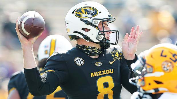 Connor Bazelak, Missouri Tigers Football