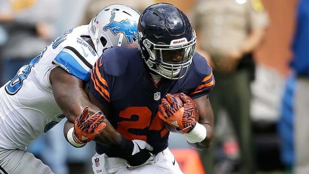 DraftKings and FanDuel Best Lineups for Week 12 Thanksgiving Games NFL Daily Fantasy Football: Jordan Howard