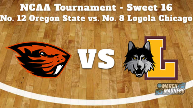 Oregon State Beavers vs. Loyola Chicago Ramblers Prediction: NCAA Tournament Sweet 16 Preview