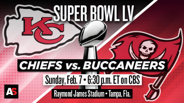 Super Bowl LV (55) Prediction and Preview: Kansas City Chiefs vs. Tampa Bay Buccaneers