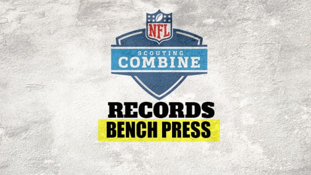 NFL Scouting Combine Record: Bench Press