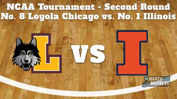Loyola Chicago Ramblers vs. Illinois Fighting Illini Prediction: NCAA Tournament Second Round Preview