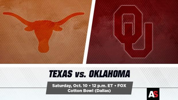 Texas vs. Oklahoma Football Prediction and Preview