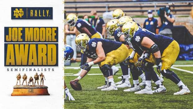 Notre Dame Football: Fighting Irish's Rock-Solid Offensive Line Paves Way to ACC Championship Game