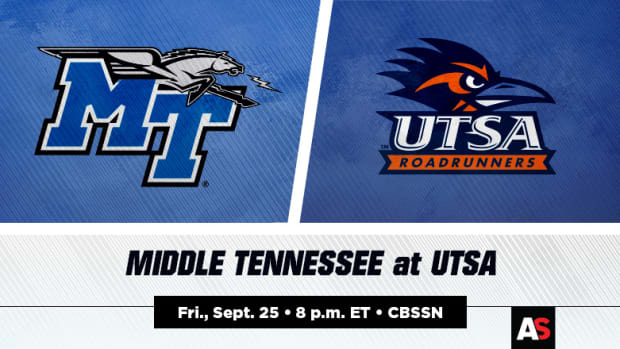 Middle Tennessee (MTSU) vs. UTSA Football Prediction and Preview