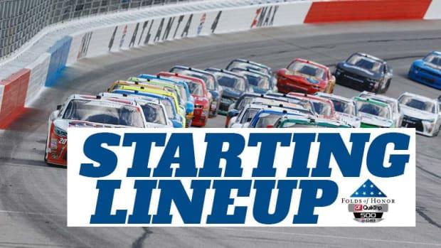 NASCAR Starting Lineup at Atlanta Motor Speedway