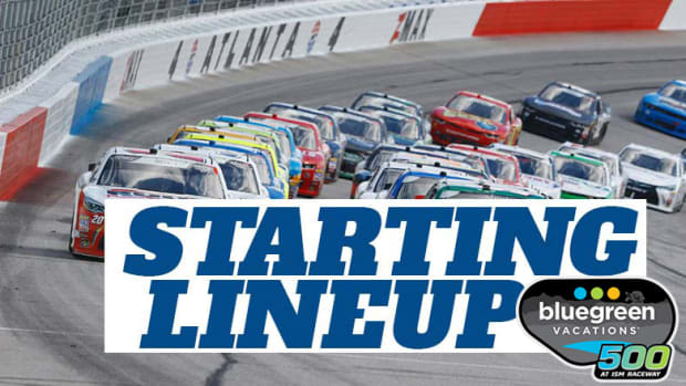 NASCAR Starting Lineup for Sunday's Bluegreen Vacations 500 at ISM Raceway