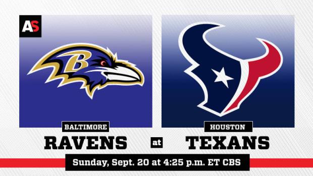 Baltimore Ravens vs. Houston Texans Prediction and Preview