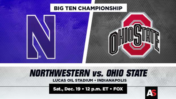Big Ten Championship Prediction and Preview: Northwestern vs. Ohio State