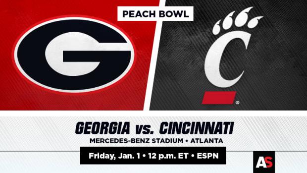Peach Bowl Prediction and Picks: Georgia vs. Cincinnati
