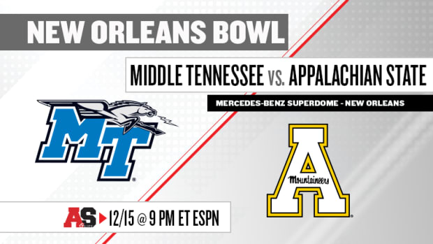 New Orleans Bowl Prediction and Preview: Middle Tennessee vs. Appalachian State