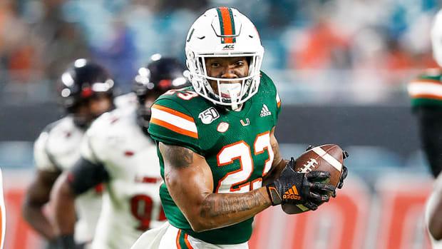 Cam'Ron Harris, Miami Hurricanes Football