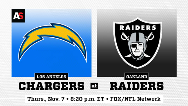 Thursday Night Football: Los Angeles Chargers vs. Oakland Raiders Prediction and Preview